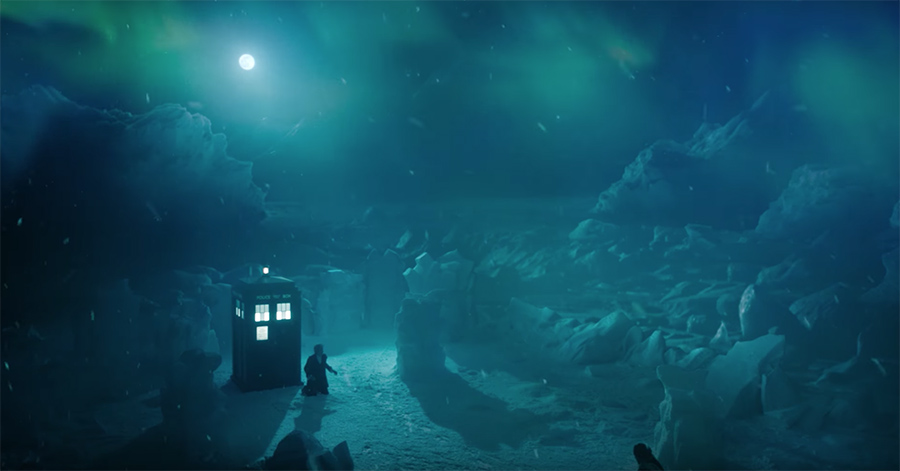 The new Doctor Who Christmas trailer teases 12's end